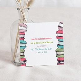 Carton Invitation Personnalisé Gourmand