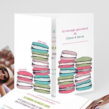 Faire-Part Mariage Personnalisés - Gourmand - 1