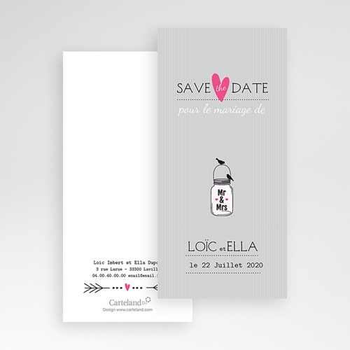 Save-The-Date - Pots d'amour 24205 thumb