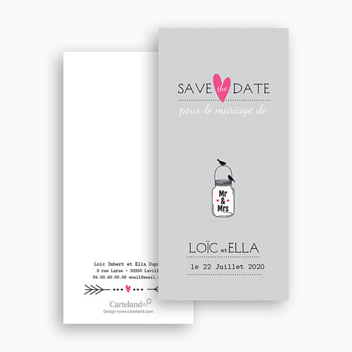 Save-The-Date - Pots d'amour 24206 preview