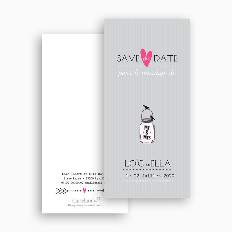 Save-The-Date - Pots d'amour 24206 thumb