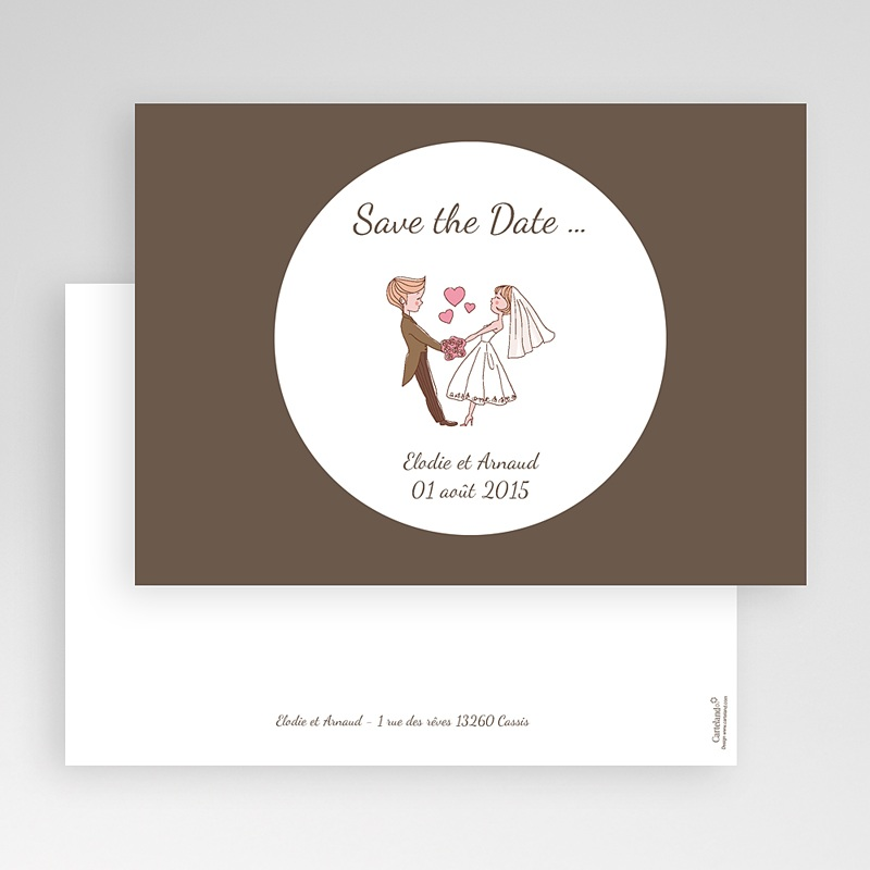 Save-The-Date - Vive les mariés 24227 thumb