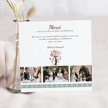 Remerciements Mariage Personnalisés Vive les mariés
