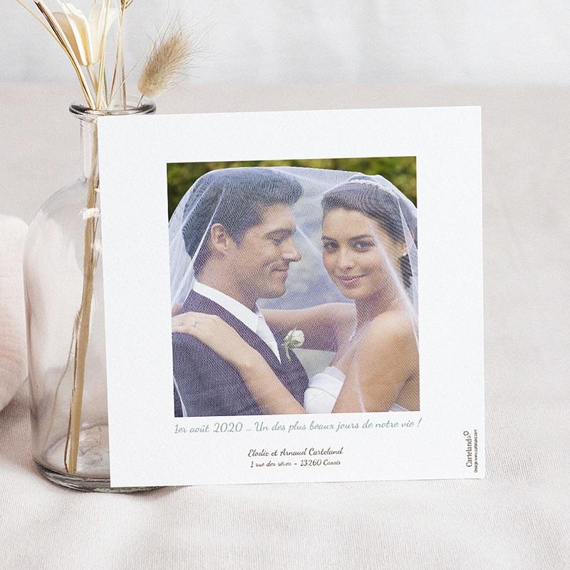 Remerciements Mariage Personnalisés Vive les mariés pas cher