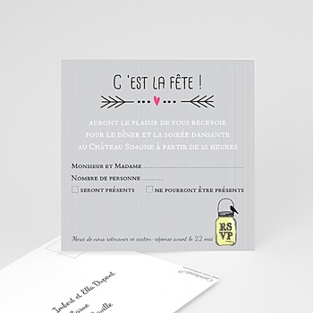 Carte invitation mariage cartons personnaliss carteland carton invitation personnalis pots damour 1 stopboris Gallery