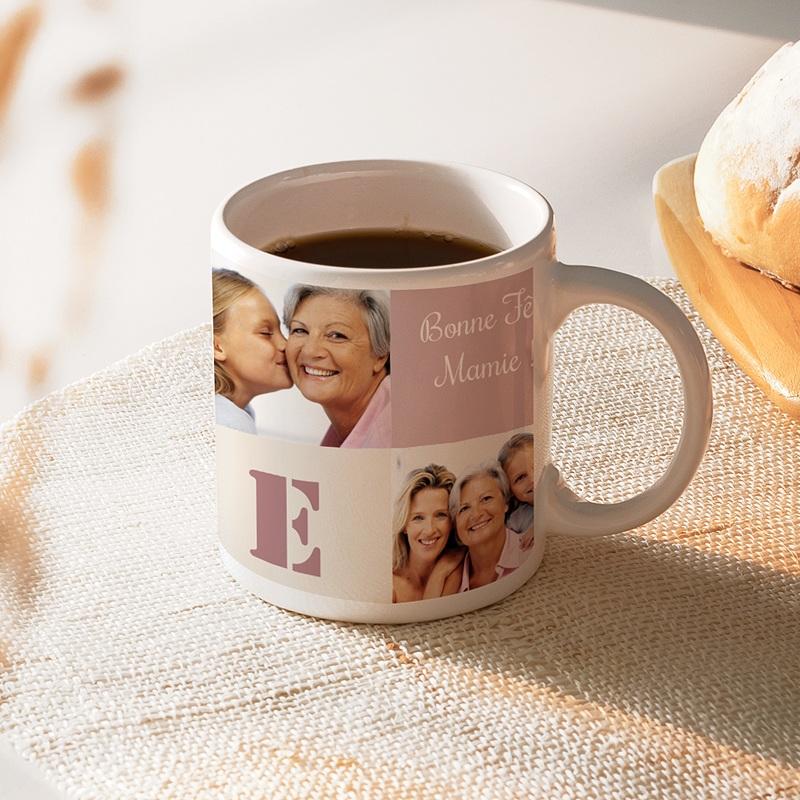 Mug Personnalisé Photo Amour de maman