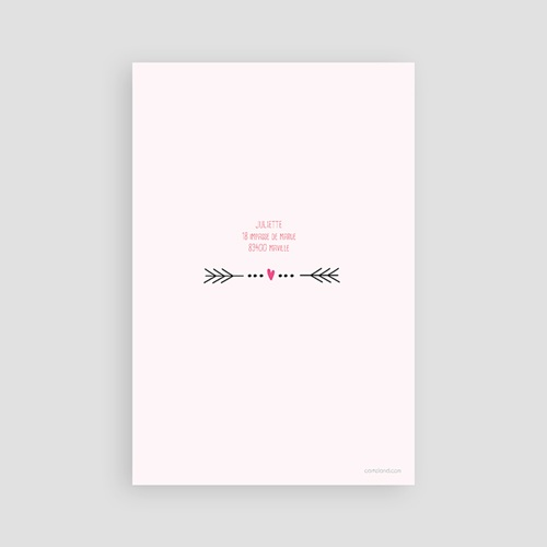 Invitation Anniversaire Adulte - Date poudrée 24488 preview