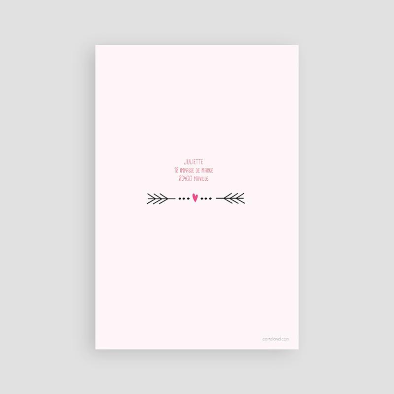 Carte invitation anniversaire adulte Date poudrée pas cher