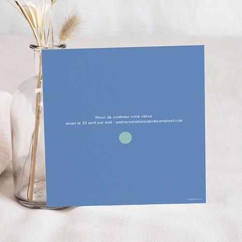 Invitations Anniversaire Garçon - Paillettes 24500 preview