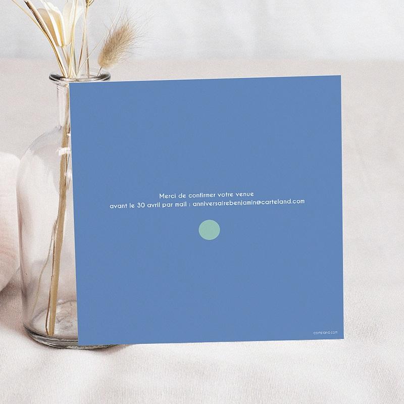Invitation Anniversaire Garçon - 4 ans ballons 24500 thumb