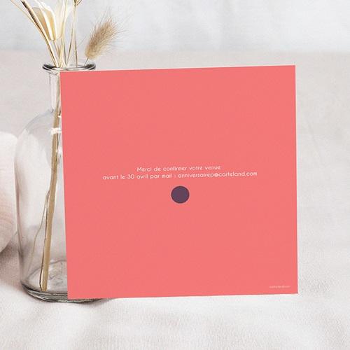 Invitation Anniversaire Adulte - Confettis 24509 thumb