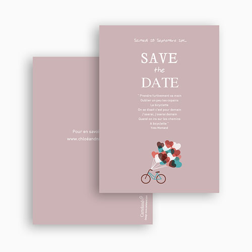 Save-The-Date - A bicyclette 24534 thumb