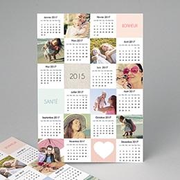 Calendrier Monopage - St-Valentin - A3 2455