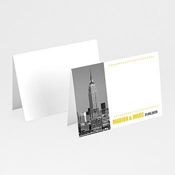 Marque Place Mariage Personnalisés New York City
