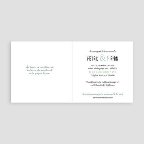 Faire-Part Mariage - Banderole et guirlande 24694 thumb