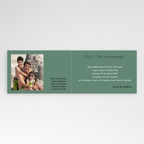 Invitation Anniversaire Adulte - L'année de Naissance 24739 thumb