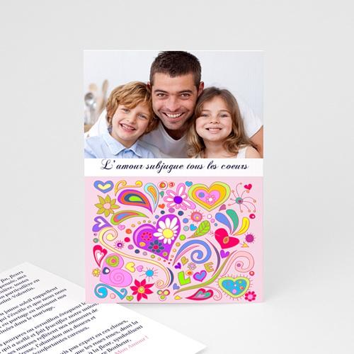 Cartes Saint-Valentin - Amour aux mille couleurs 2476
