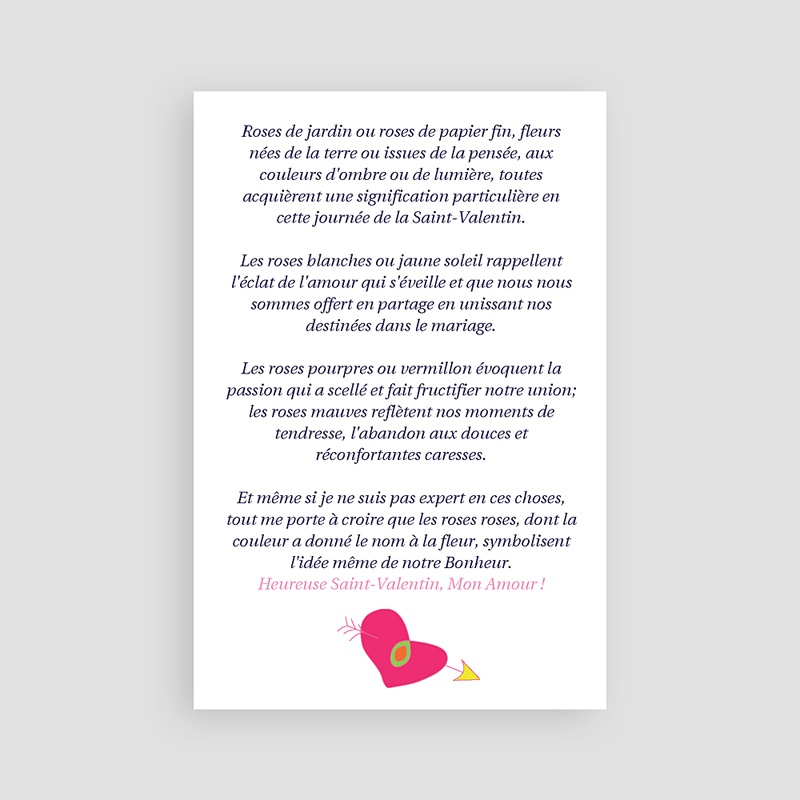 Cartes saint valentin amour aux mille couleurs - Noel a mille couleurs ...