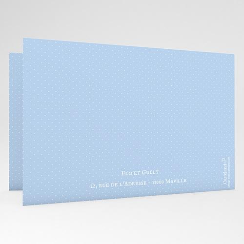 Faire-Part Naissance Garçon - Bleu Princier 24900 thumb
