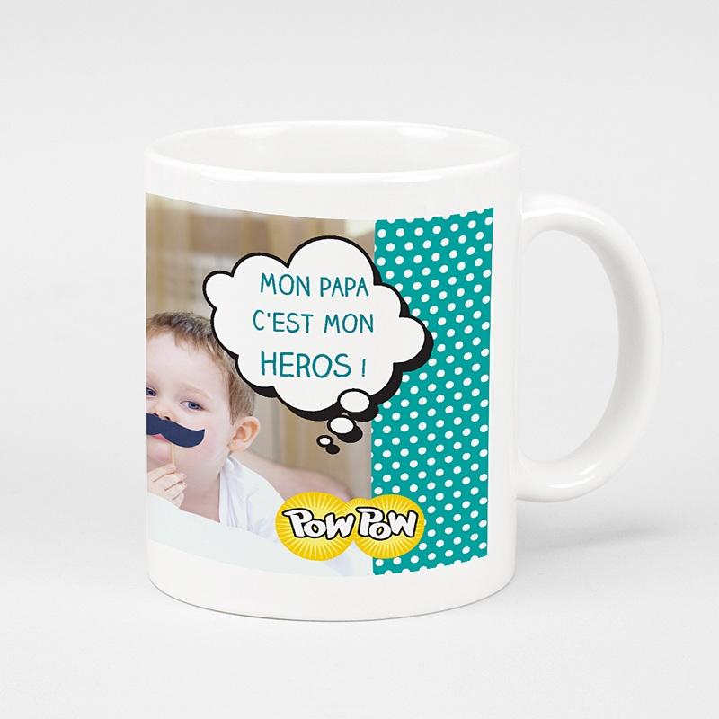 Mug Personnalisé Photo Super Papa