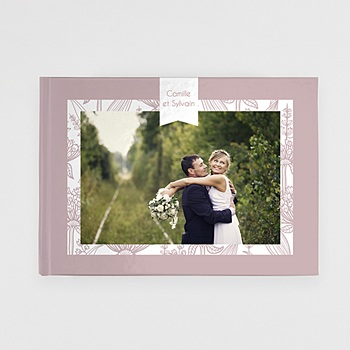 Univers livre photo mariage royal personnalisable