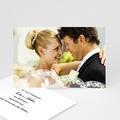 Carte remerciement mariage - Romantisme - 685