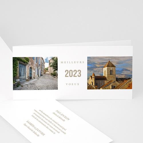 Cartes de Voeux Professionnels - Nouvel horizon 2510