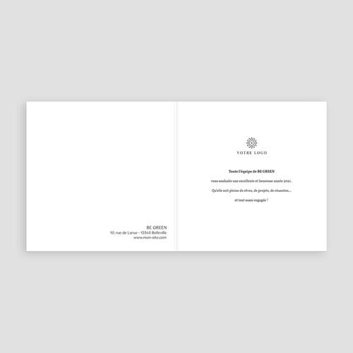Cartes de Voeux Professionnels - Nature et Zen 2527 thumb
