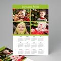 Calendrier Monopage - Etoile Verte 2554 thumb