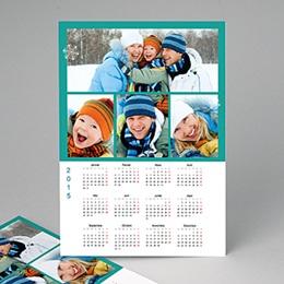 Calendrier Monopage - Vacances Bleues 2563