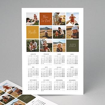 Calendrier Monopage 2020 - Première carte de voeux de bébé - 4
