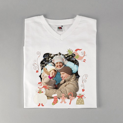 Tee-Shirt avec photo - Noel en douceur 2577