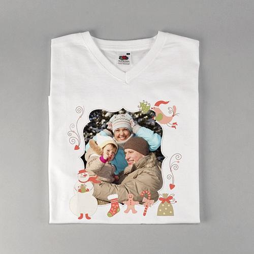 Tee-Shirt avec photo - Noel en douceur 2577 thumb