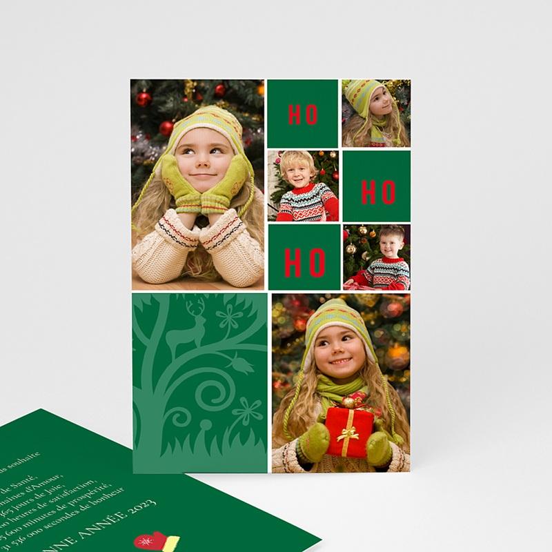 Carte Noël Joyeux Noël OH OH OH
