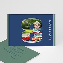 Invitations Anniversaire enfant Composez votre âge