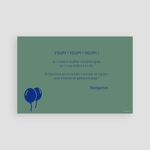 Invitations Anniversaire Garçon - Composez votre âge 2757 preview