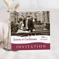 Carte d'invitation - Noces - 755