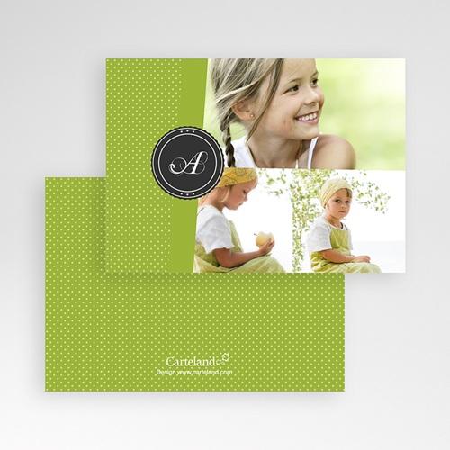 Cartes Multi-photos 3 & + -  Bande Vert printemps 278 thumb