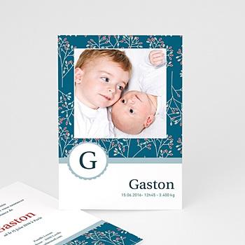 Faire-Part Naissance Garçon - Gaston - 3