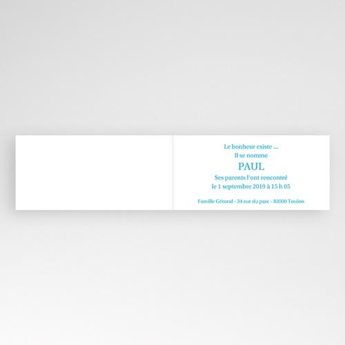 Faire-Part Naissance Garçon - Paul 2867 thumb