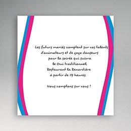Carton Invitation Personnalisé Une Fille et un Gars
