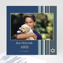 Faire-part Bar-Mitzvah - Bar Mitzvah photo - 3