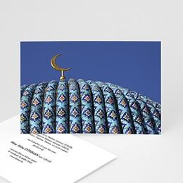 Carte remerciement décès musulman Musulmane