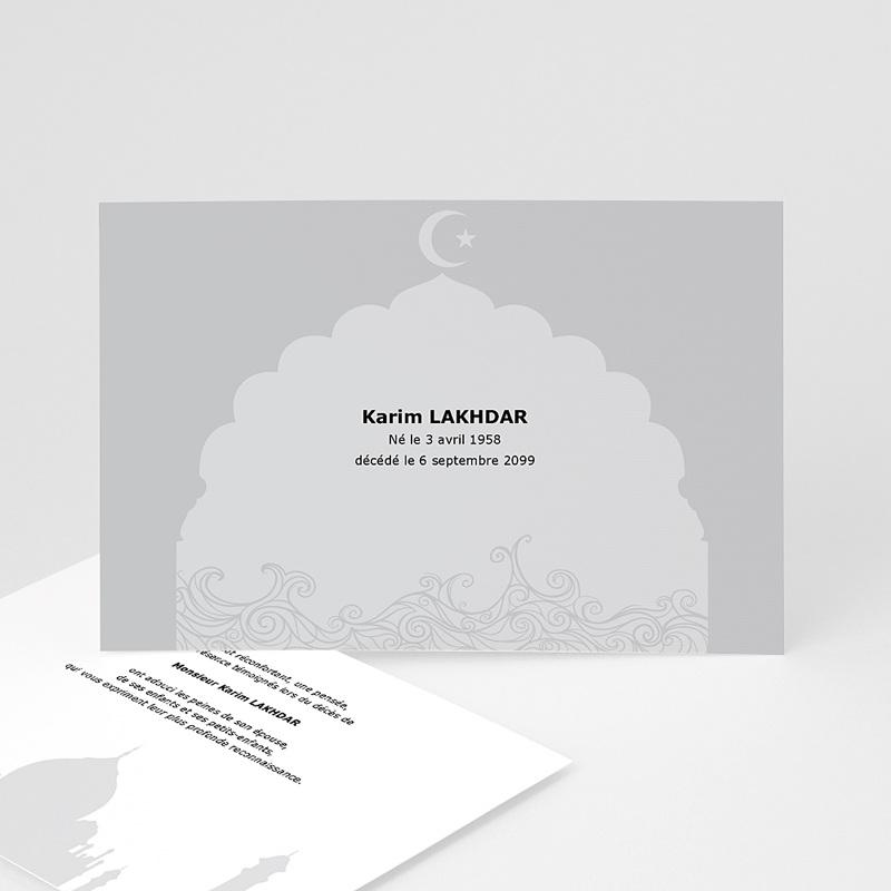 Carte Remerciement Décès Musulman Remerciements décès musulman