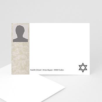 Acheter carte remerciement décès juif yahrzeit