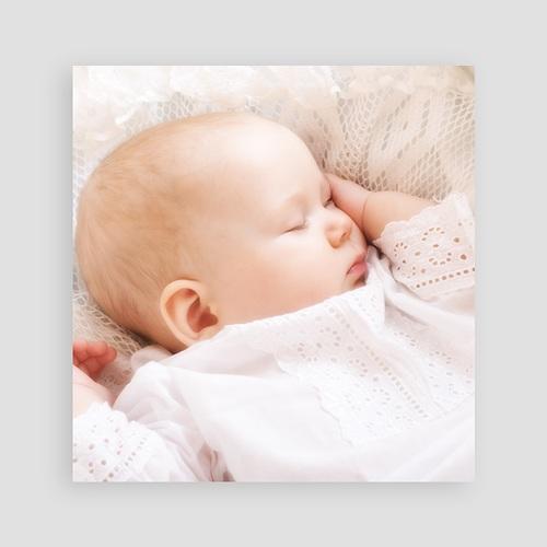 Faire-Part Baptême Fille Cérémonie Melys pas cher
