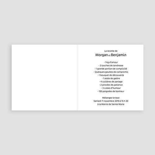 Faire-Part Mariage Personnalisés - Vert Pomme 3511 preview