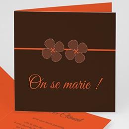 Faire-Part Mariage Personnalisés - Mariage en Automne - 3