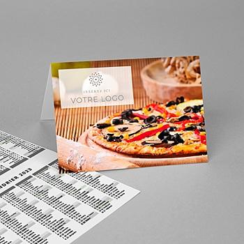 Calendriers de Poche Pizza