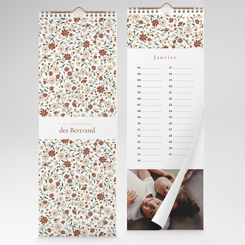 Calendrier Perpétuel - Mille Fleurs 35284 thumb